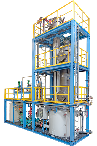 Vent Gas Treating System, VGTS, unit, hydrochloric acid
