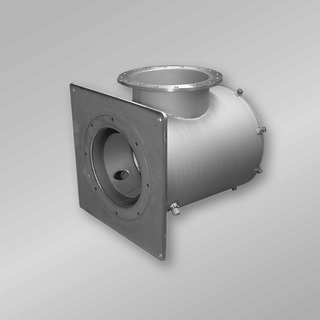 Air register burner LG developed for use at melting pots in the glass industry